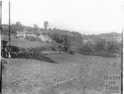 Houses on St Catherines Valley, Northend Batheaston, c.1910