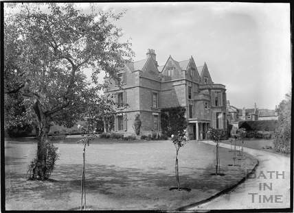 Rear of Middlesex House, Northend c.1910