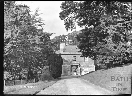 Elmhurst, Fosse Lane, Batheaston c.1910