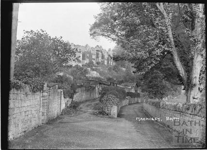Prospect Road, below Macaulay Buildings, Bath c.1910