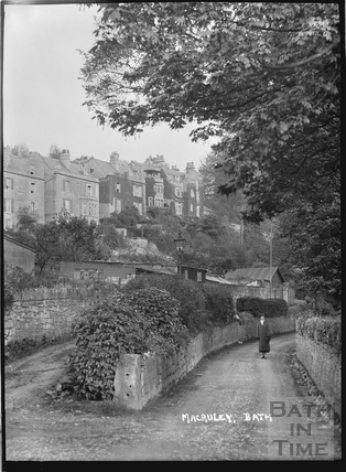 Prospect Road, below Macaulay Buildings, Bath c.1910
