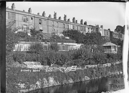 Rear of Sydney Buildings, Bath c.1920
