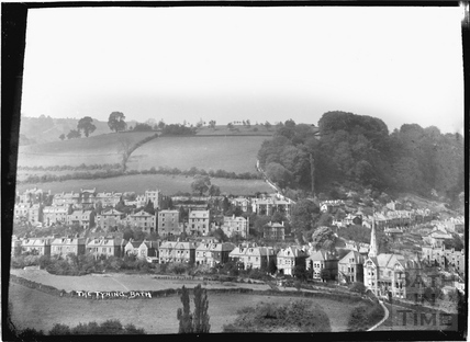 The Tyning, looking west c.1920s