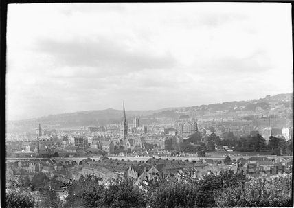 View of Bath looking south west c.1920s