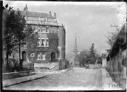 Widcombe Crescent No.1 c.1920s