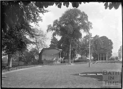 Sydney Gardens temple and bandstand c.1920s