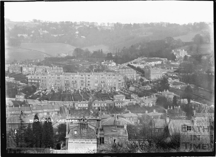 View of Widcombe Crescent No.1 c.1920s