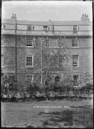 Widcombe Crescent No.6 c.1920s