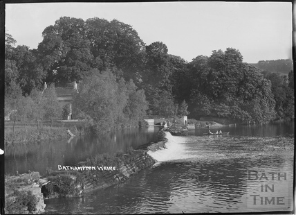 Bathampton Weirs and Mill c.1930s