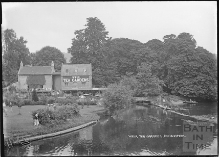 Bathampton Weir Tea Gardens c.1950s