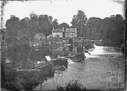 Bathampton Weirs and Tea Rooms c.1930s