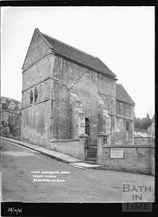 Saxon Church, Bradford on Avon 28 Oct 1936