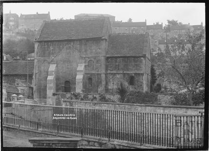 Saxon Church, Bradford on Avon 28 Oct 1936