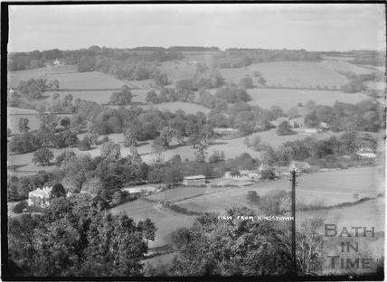 View from Kingsdown c.1938