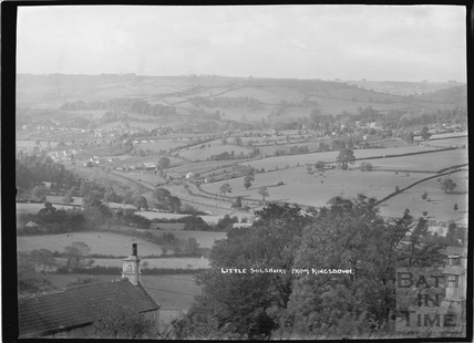 View of Little Solsbury from Kingsdown 1938