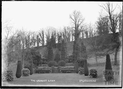 The Croquet Lawn, St Catherines Court c.1920s