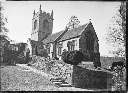 The church at St Catherines c.1910