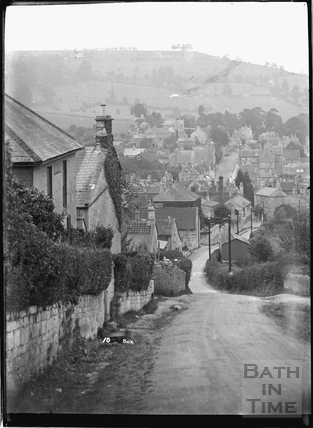 View down Quarry Hill, Box, No.10 1932
