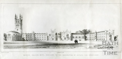 Queens College, Bath - Auxiliary to the Universities of Oxford and Cambridge 1839