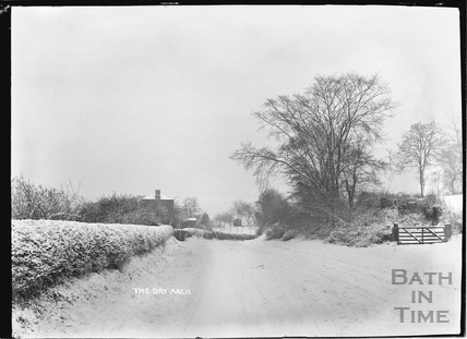 The Dry Arch in winter, Bathampton c.1920s