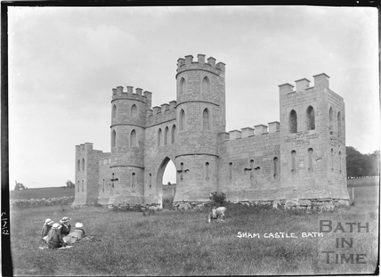 View of Sham Castle 17 July 1922