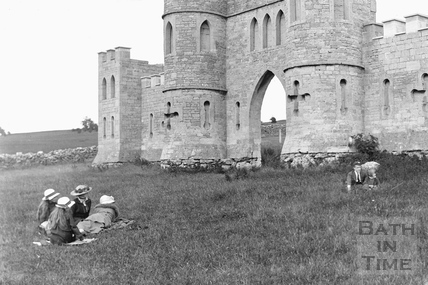 View of Sham Castle 17th July 1922 - detail