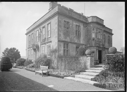 View from garden, Hamswell House, near Battlefields c.1930s