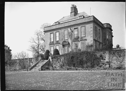 View from Garden of Hamswell House, near Battlefields c.1930s