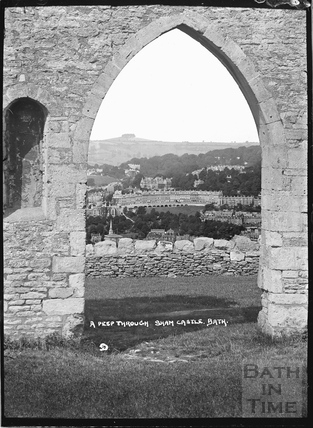 A peep through Sham Castle c.1922