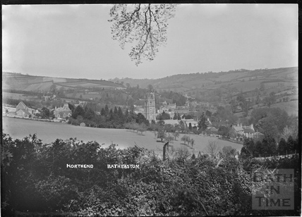 View of Northend Batheaston c.1920s