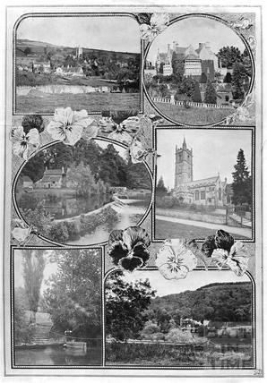 Multiview of Batheaston and Bathampton c.1920s