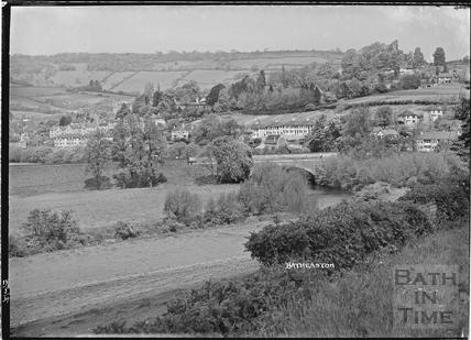 View of Batheaston, 13 May 1939