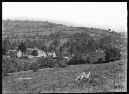 Eagle Farmhouse and Eagle House, Northend Batheaston, c.1937