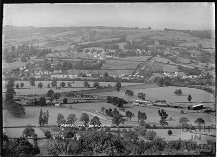 Bannerdown and Batheaston viewed from Bathampton c.1937