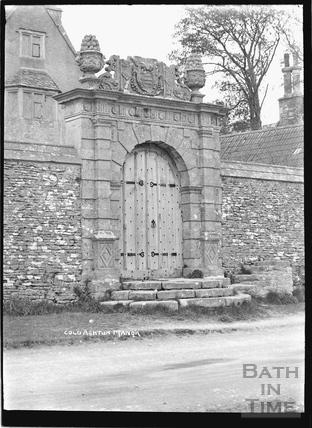 Gateway, Cold Ashton Manor, c.1920s