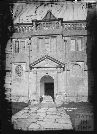 Cold Ashton Manor c.1920s