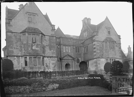 Cold Ashton Manor c.1920s