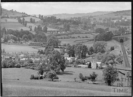 View of Box looking east c.1939