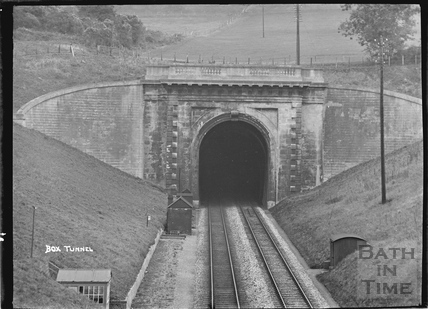 Box Tunnel, western portal c.1939