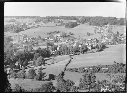 View of Box from Kingsdown, c.1939