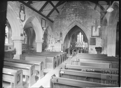 Inside Box Church c.1939