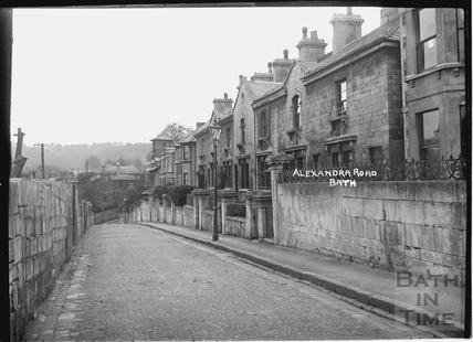 Alexandra Road, Widcombe c.1920s