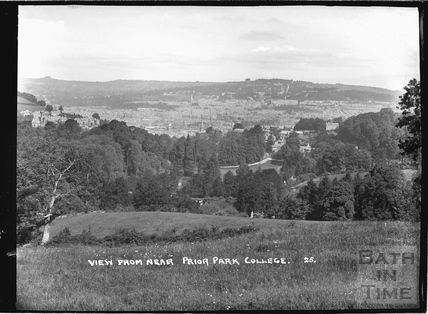 View from near Prior Park College No 25 c.1920s