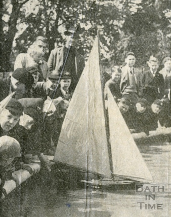 The opening of Alice Park, Larkhall, May 1938