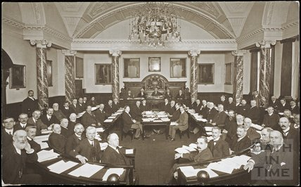 Bath City Council meeting, Guildhall, Bath 1911