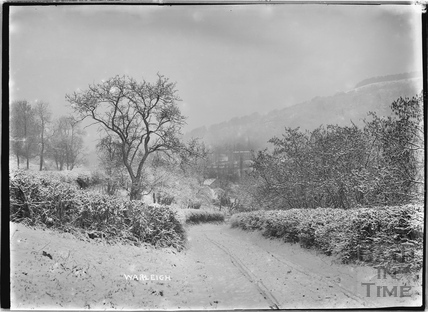 Warleigh from Mill Lane, Claverton c.1907
