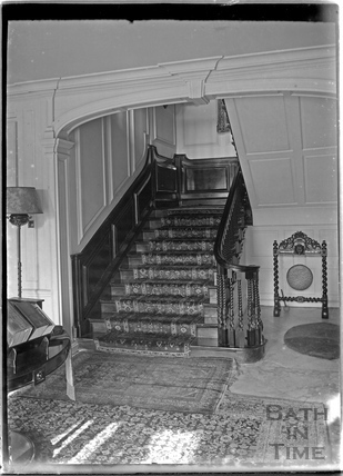 Widcombe Manor Interior c.1920s