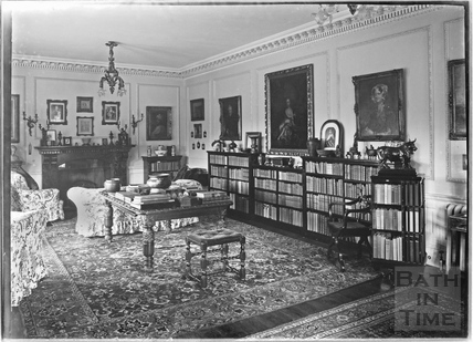 Widcombe Manor Interior c.1920s