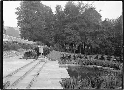 Widcombe Manor garden, c.1929