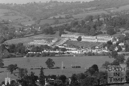 View of Elmhurst Estate - Bathampton No.I 5 Oct 1950 - detail